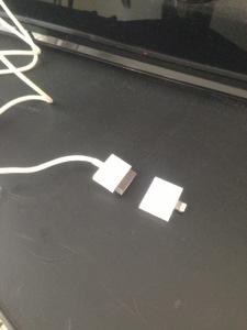 iPhone5充電アダプタ