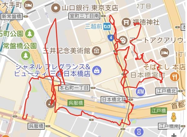 江戸名所巡り・日本橋界隈